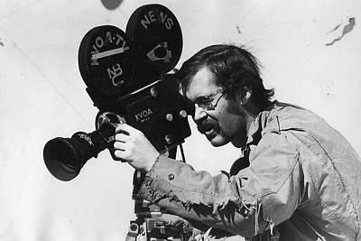 Kvoa Tv News Cameraman Frank Sharkey Fiddler's Contest Armory Park Tucson Arizona 1971 Print by David Lee Guss