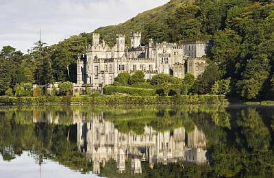 Kylemore Abbey, County Galway, Ireland Art Print