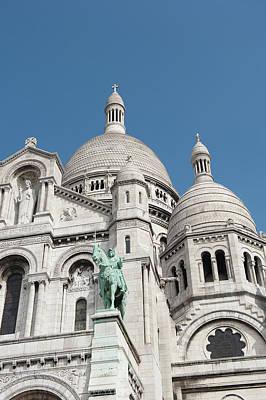 Photograph - La Basilique Du Sacre Coeur by Helen Northcott