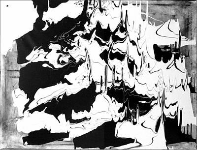 Contemporain Art Painting - La Beaute Du Mouvement by Gaulthier MONZIES