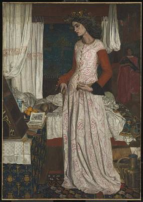 Change Painting -  La Belle Iseult by William Morris