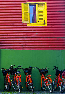 Photograph - La Boca by Kobby Dagan
