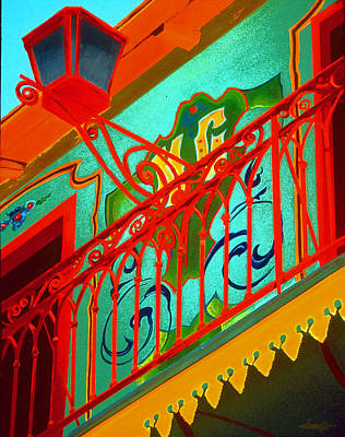 Painting - La Boca Street Scene 23 by JoeRay Kelley