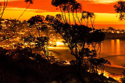 Photograph - La Jolla Sunset by Ben Graham