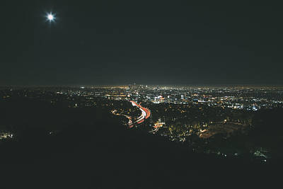 Down Town Los Angeles Photograph - LA by Kekoa James