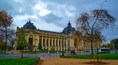 La Petit Palais - Paris Print by Barry Marsh
