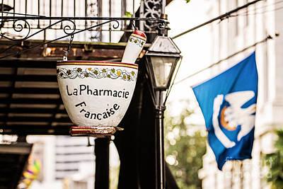 La Pharmacie Francaise Art Print by Scott Pellegrin