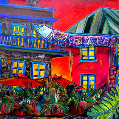 Painting - La Villita Entrance by Patti Schermerhorn