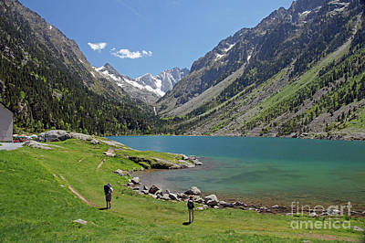Photograph - Lac De Gaube by Rod Jones