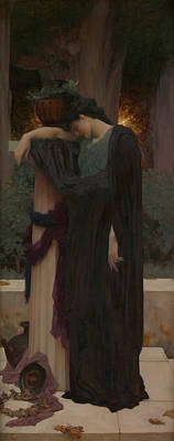 Painting - Lachrymae by Frederic Leighton