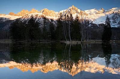 Lacs Des Gaillands Art Print
