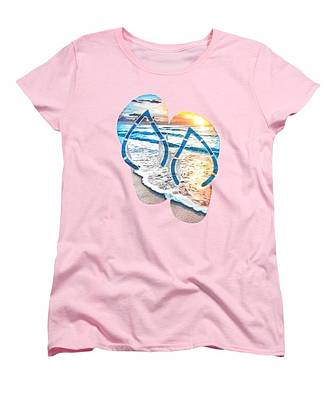 Painting - Ladies T-shirt by Herb Strobino
