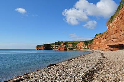 Photograph - Ladram Bay by Andrea Everhard