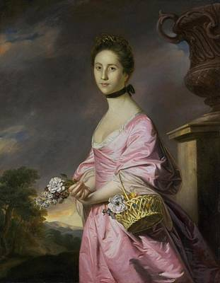 Anstruther Painting - Lady Anstruther by Joshua Reynolds