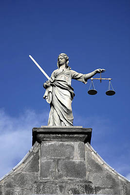 Solicitors Photograph - Lady Justice by Joe Burns