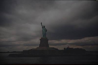 Lady Liberty Art Print by Rob Hans