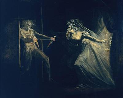 Night Angel Painting - Lady Macbeth Seizing The Daggers by Henry Fuseli