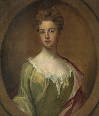 Kneller Painting - Lady Mary Berkeley by Godfrey Kneller