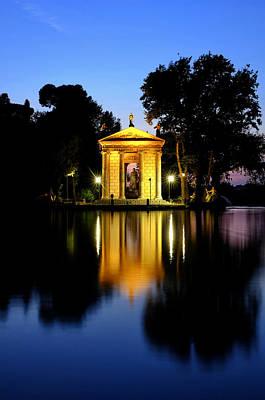 Photograph - Laghetto Di Villa Borghese  by Fabrizio Troiani