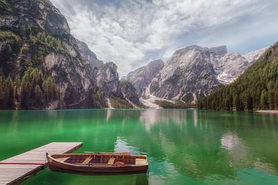 Tyrol Wall Art - Photograph - Lago Di Braies - Italy by Joana Kruse