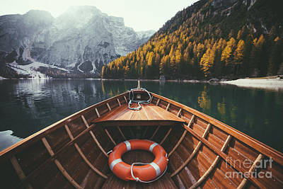 Photograph - Lago Di Braies by JR Photography