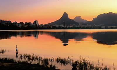 Photograph - Lagoa Rodrigo De Freitas, Rio De Janeiro, Brazil by Alexandre Rotenberg