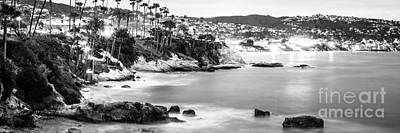 Laguna Beach California Panoramic Photo Art Print