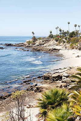 Orange County Photograph - Laguna Beach California by Paul Velgos