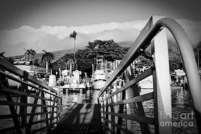 Photograph - Lahaina Marina by Sharon Mau
