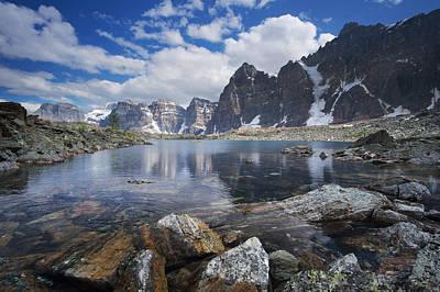 Photograph - Lake Agnes by Bernard Chen