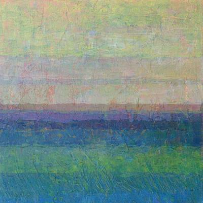 Painting - Lake And Sky by Michelle Calkins
