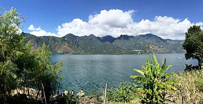 Photograph - Lake Atitlan by Claire McGee