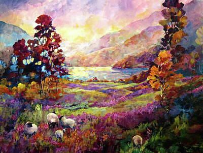 Painting - Lake Bala, Wales by Bonny Roberts