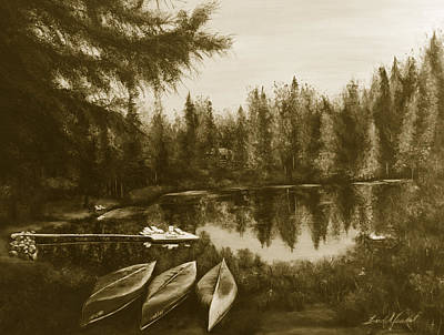 Browm Digital Art - Lake Bronson  by Cindy yeakel