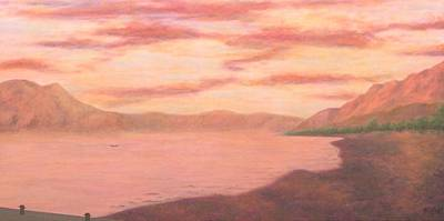 Painting - Lake Chapala by Mishel Vanderten