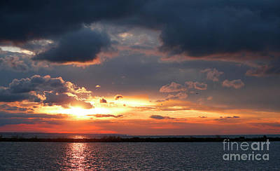 Photograph - Lake Erie Sunset by Debbie Parker