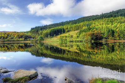 Photograph - Lake Geirionydd by Ian Mitchell