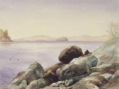 Lake Painting - Lake George by John Henry