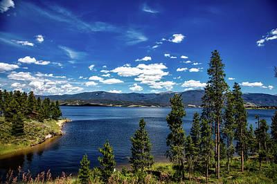 Lake Granby Colorado Print by Mountain Dreams