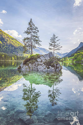 Photograph - Lake Hintersee by JR Photography