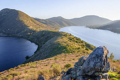 Dio Photograph - Lake Hodges by Alexander Kunz