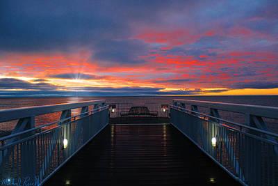 Photograph - Lake Huron Sunrise by Michael Rucker