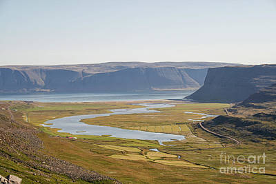Photograph - Lake In Iceland by Patricia Hofmeester