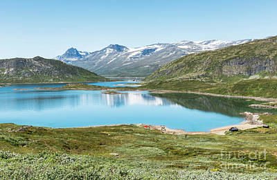 Photograph - Lake In National Park In Norway by Compuinfoto