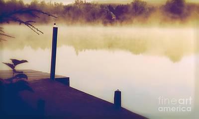 Photograph - Lake Landscape by France Laliberte