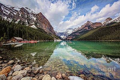 Photograph - Lake Louise by Scott Pellegrin