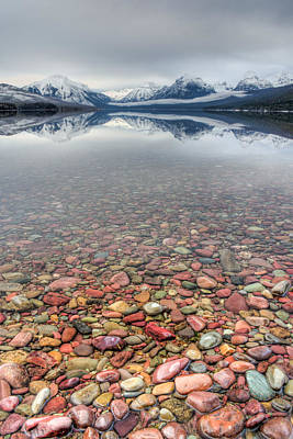 Photograph - Lake Mcdonald, Glacier Nat'l Park by Jedediah Hohf