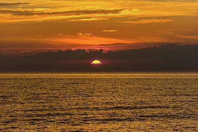 Photograph - Lake Michigan Sunset  by Pravin Sitaraman
