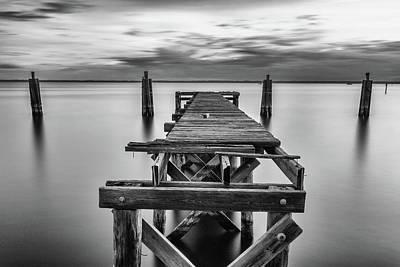 Photograph - Lake Monroe Dock by Stefan Mazzola