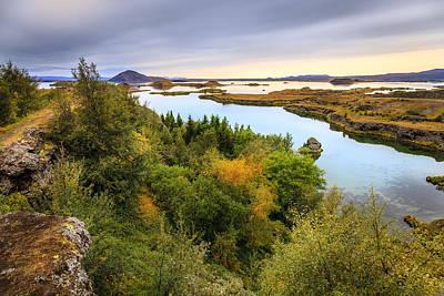 Photograph - Lake Myvatn by Alexey Stiop
